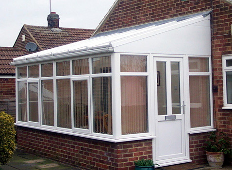 uPVC Lean-to conservatory