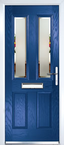Dual Glazed Front Door