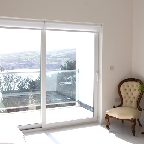 Sliding patio-door