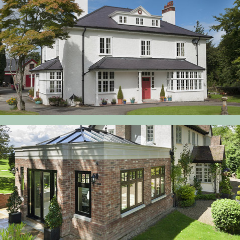 Two period properties using Residenceee collection windows and doors