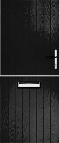 Black Cottage Stable Composite Door