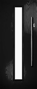Black Longlite Composite Door