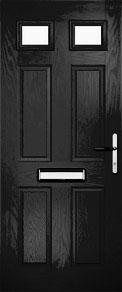 Black Tops Composite Door